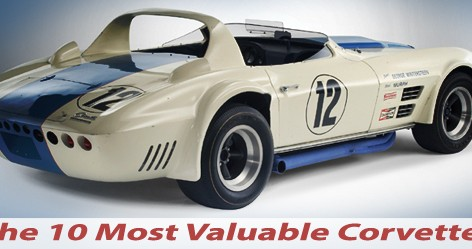 The Most Valuable Corvettes Ever Built