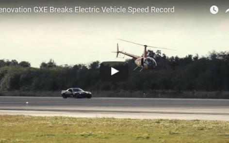 Electric Vette breaks speed record