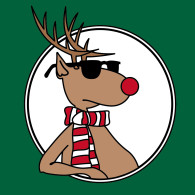 Cool Rudolph, ready for the run!